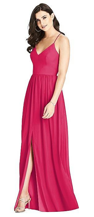 Criss Cross Strap Backless Maxi Dress