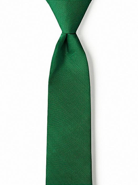 "Peau de Soie Boy's 14"" Zip Necktie by After Six"