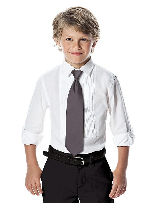 Yarn-Dyed Boy's Slider Tie by After Six