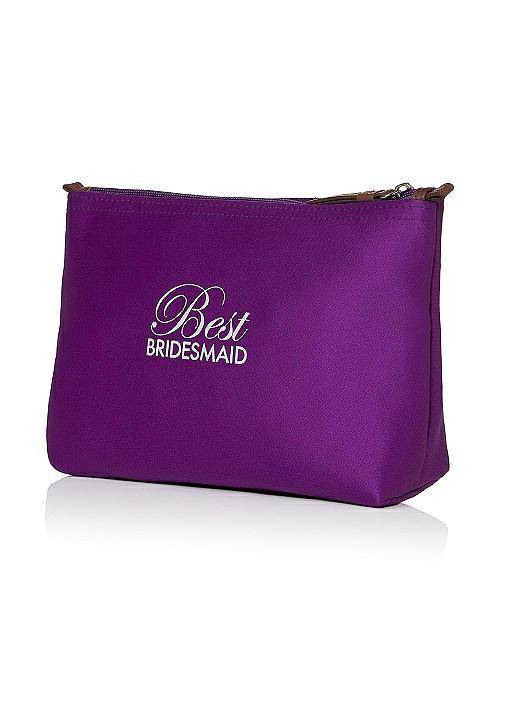Best Bridesmaid Satin Cosmetics Bag