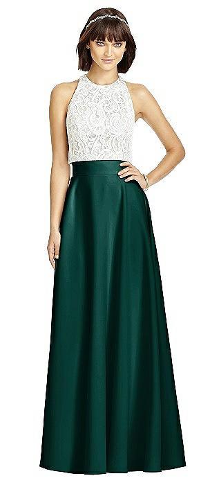 Crepe Maxi Skirt