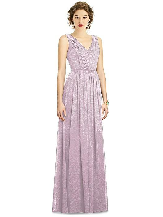 Dessy Shimmer Bridesmaid Dress 3005LS On Sale