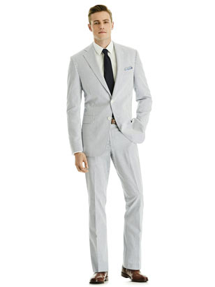 Summer Wedding Suit Men S Seersucker Suit The Dessy Group