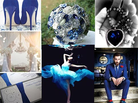 Royal Blue Romantic Wedding Inspiration