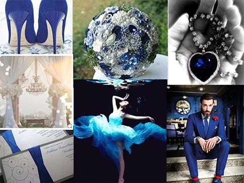 Royal Blue Romantic Wedding Inspiration